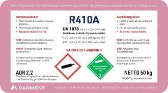 R410A kylmäaine tuoteseloste