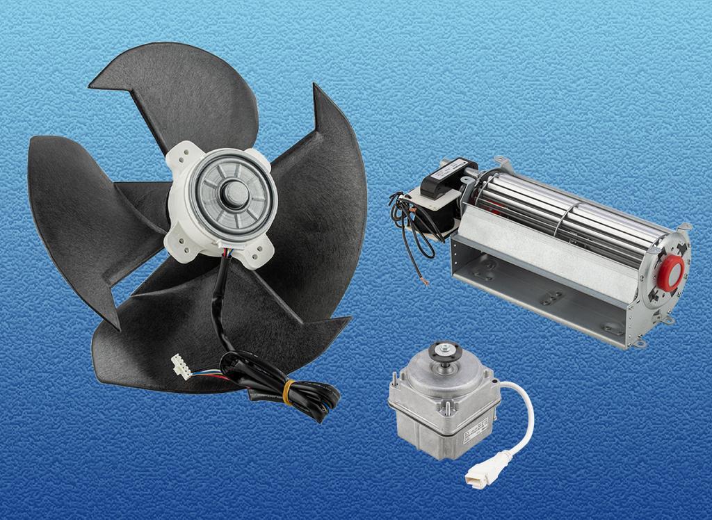 puhallinmoottorit fan motors